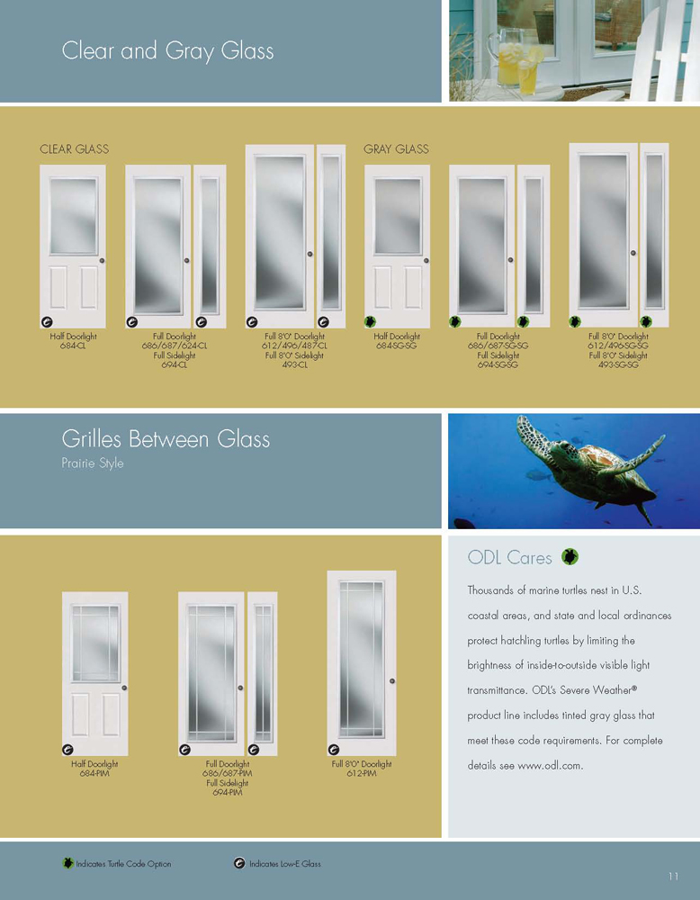 Odl Severe Weather Doorglass