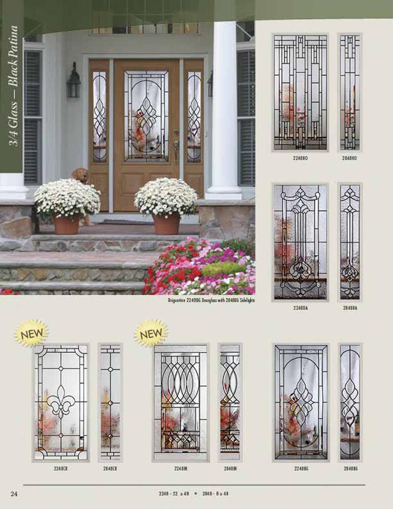 Rsl doorglass decorative and impact for Signamark interior glass doors