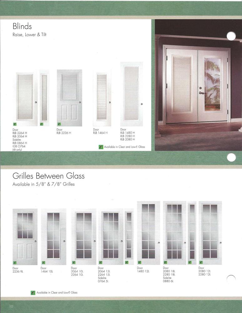 Western Reflections Impact Doorglass