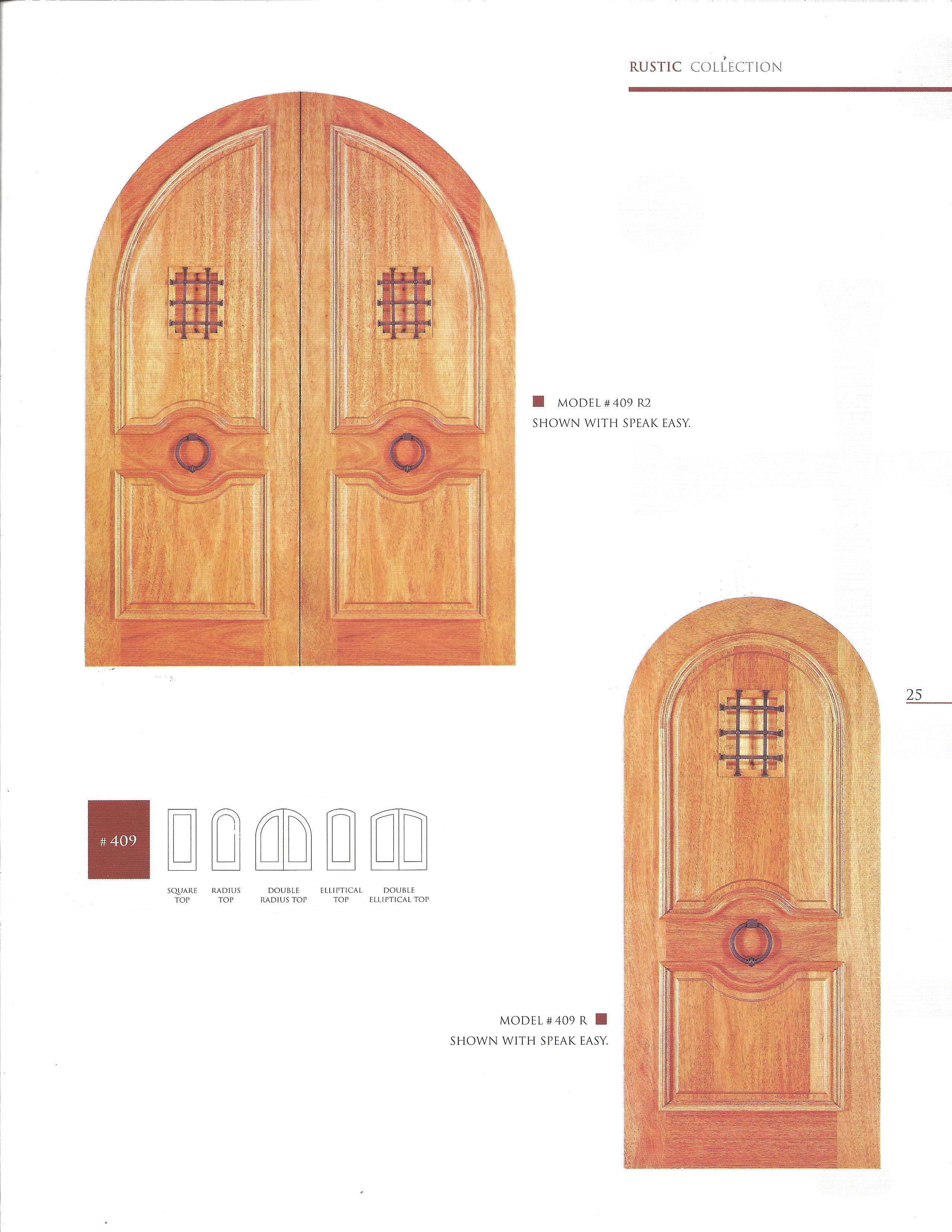 Exclusive Wood Doors Catalog