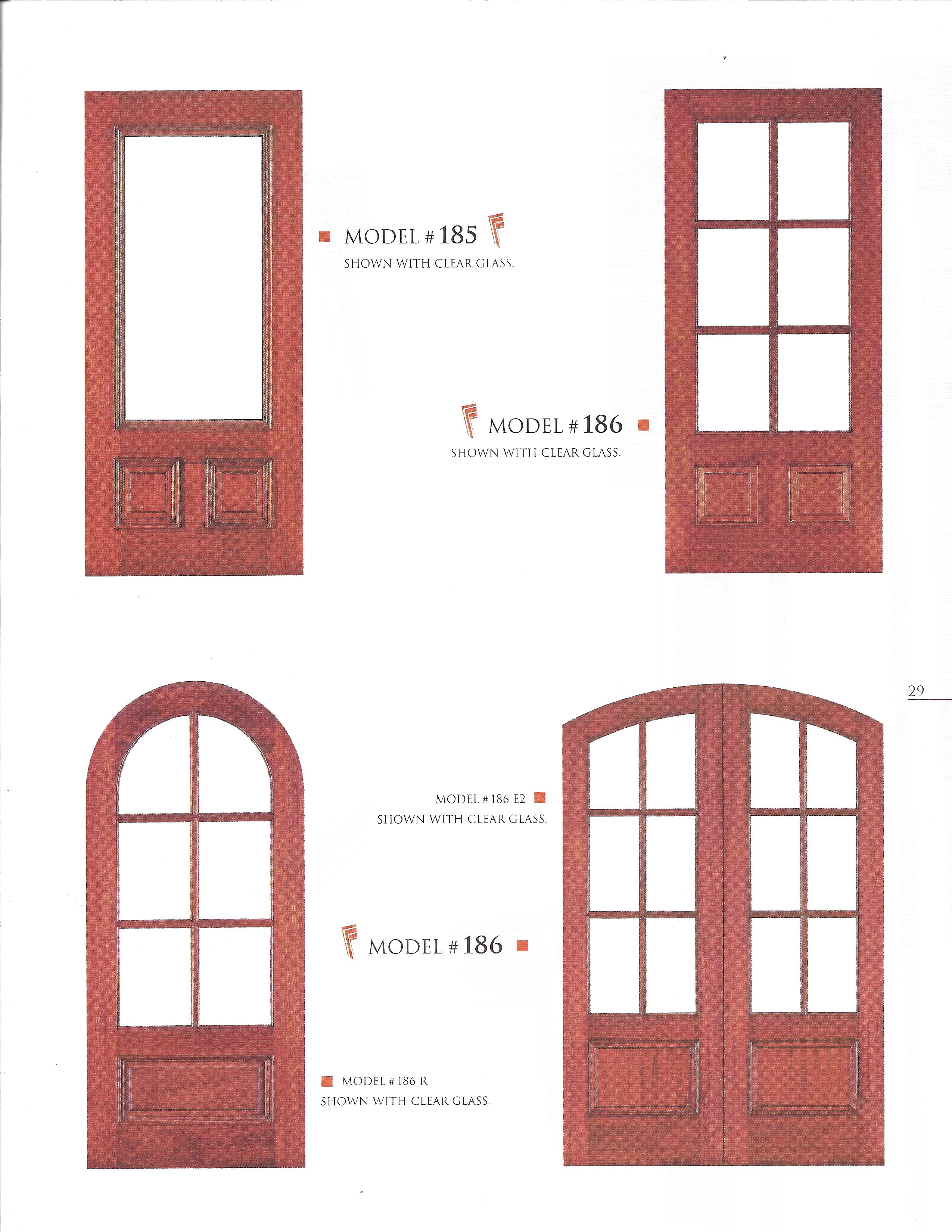 Residential Wood Entry Doors Ideas Design Pics