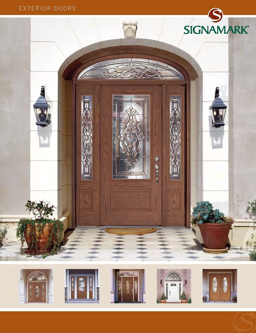 Cool Signamark Exterior Door Catalog Largest Home Design Picture Inspirations Pitcheantrous