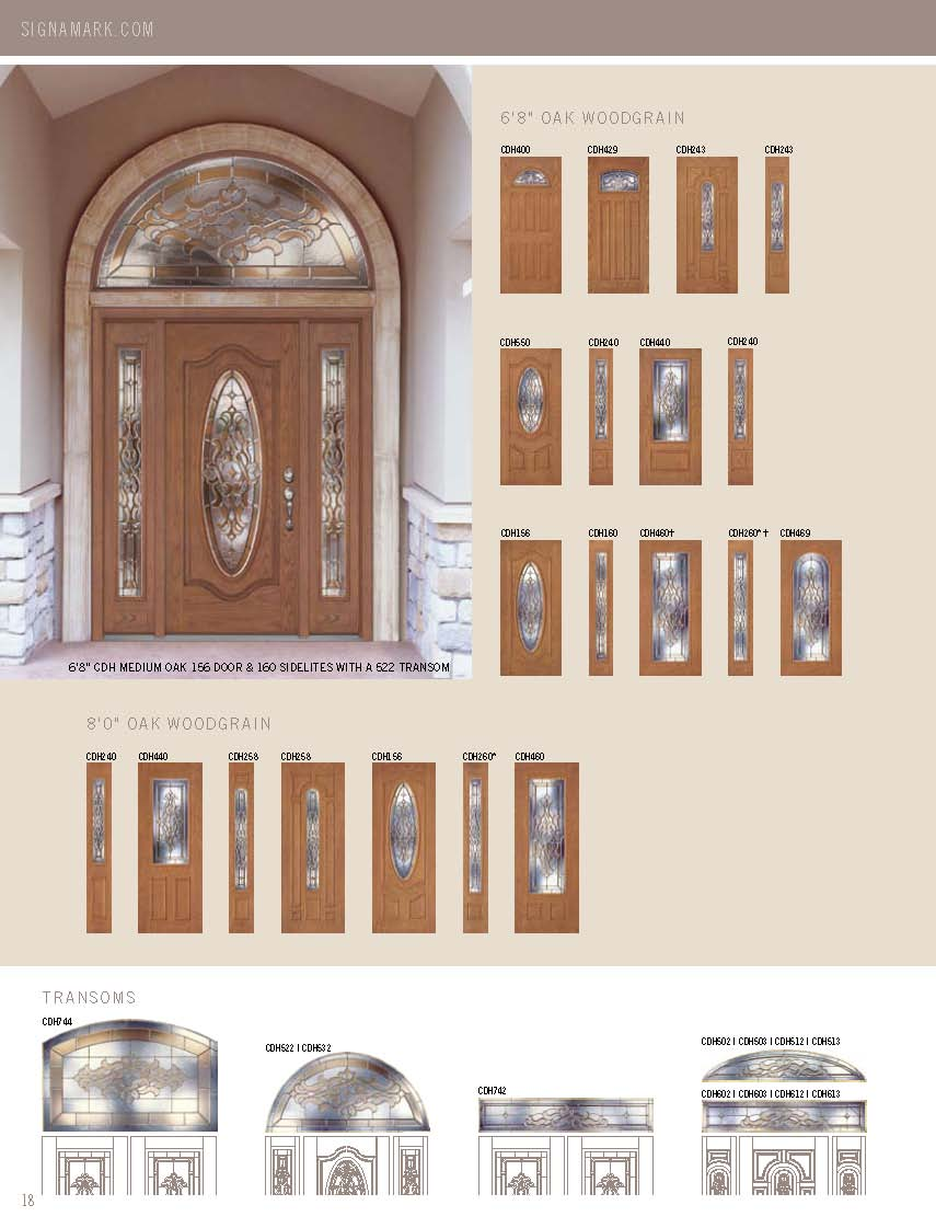 ... Click to enlarge image signamark_exterior_doors_Page_18.jpg ... & Signamark Exterior Door Catalog
