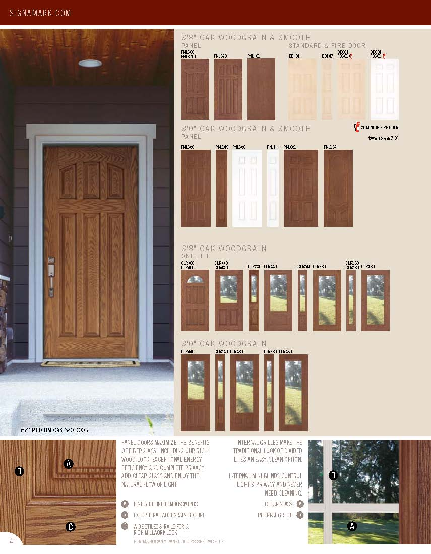 Catalogs for Door design catalog