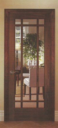 Residential Interior Door With Glass Photo