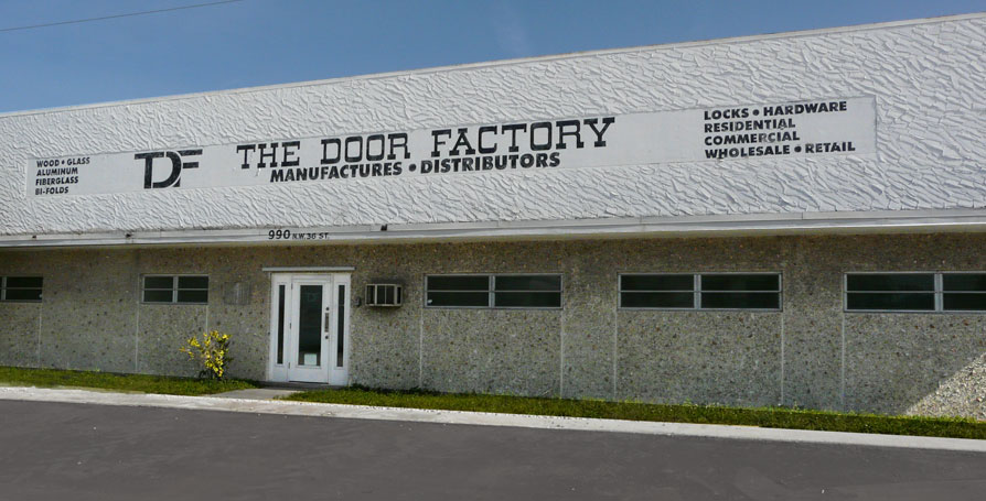 photo of the door factory building